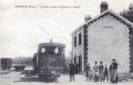02 - Aisne - CHACRISE ( Pres Soissons )- La Gare - Ligne De Soissons A Oulchy - Altri Comuni