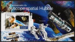 GUINEE - ESPACE - TELESCOPE SPATIAL HUBBLE - BF 1820 - NEUF** - Spazio