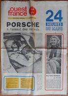 """24 H Du Mans 1971. """"Porsche"""" A L'assaut Des Records.Marie-Claude Beaumont.Ligier,Matra. - Desde 1950"""