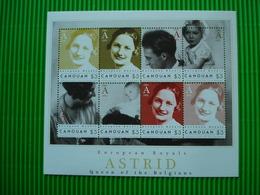 Postzegelblok**European Royals**Astrid-Queen Of The Belgians**postfris** - Belgique