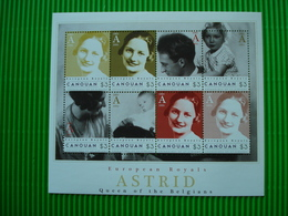 Postzegelblok**European Royals**Astrid-Queen Of The Belgians**postfris** - Autres