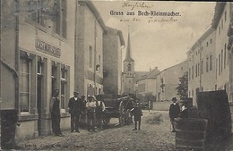 Gruss Aus Bech-Kleinmacher  -  Gast Wirtschaft  -  2 Scans - Cartes Postales