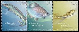 Croatia - 2009 - Freshwater Fish - Mint Stamp Set - Croatia