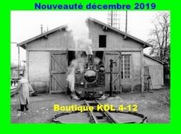 AL 612 - Loco Decauville 3-4 Au Dépôt - TOURY - Eure Et Loir - TPT - Autres Communes