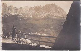 Carte-photo. CORTINA D'AMPEZZO. Cortina Geg. Cristallo - Belluno