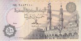 EGYPT 50 PT PIASTRES  1990 P-58b SIG/S.HAMED #18 UNC TST NO 2 - Egypt