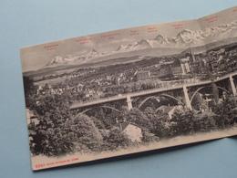 BERN Und Die ALPEN ( 4249 Edit. Photoglob C° Zurich ) Double Card > Anno 19?? ( See Photo ) ! - BE Berne