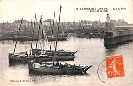 44 - La Turballe - Vue Du Port Prise De La Jetée (animée) - La Turballe