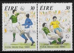 IRLANDE - COUPE DU MONDE DE FOOTBALL DE 1990 EN ITALIE - N° 715 ET 716 - NEUF** - 1990 – Italien