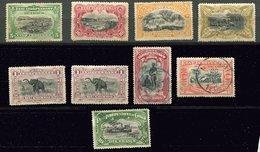 Congo Belge - Ob  - N° 16 - 17 - 21 - 25 - 26A - 27 - 28 - Belgisch-Kongo