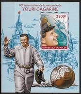 NIGER - ESPACE - YOURI GAGARINE - BF 262 - NEUF** - Spazio