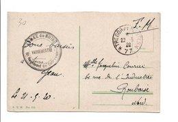 CACHET ARMEE DU RHIN - 5 EME REGIMENT DE CUIRASSIERS 1920 - Marcofilie (Brieven)