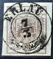AUSTRIA 1850/54 - ERLAU Cancel - ANK 4 - 6kr - 1850-1918 Imperium