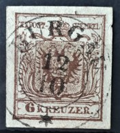 AUSTRIA 1850/54 - ...BURG Cancel - ANK 4 - 6kr - 1850-1918 Empire