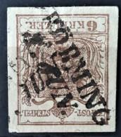 AUSTRIA 1850/54 - GRÖBMING Cancel - ANK 4 - 6kr - 1850-1918 Imperium
