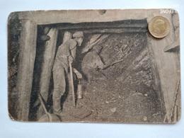 Niederschlesien, Steinkohlenbergwerk, Kohlenhauer1910 - Schlesien
