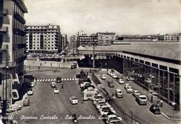 Napoli - Stazione Centrale - Lato Arnaldo Lucci - Formato Grande Viaggiata – E 14 - Napoli