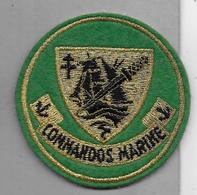 Ecusson Commandos Marine - Ecussons Tissu