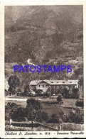 127106 ITALY CHALLANT ST ANSELMO AOSTA STATION VERRES HOTEL PENSIONE MIRAVALLE POSTAL POSTCARD - Sin Clasificación