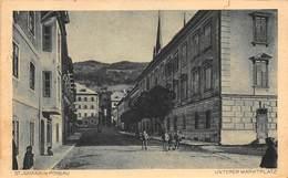ST JOHANN Im PONGAU AUSTRIA~UNTERER MARKTPLATZ~1928 FRANZ SCHITTER PHOTO POSTCARD 42870 - St. Johann Im Pongau