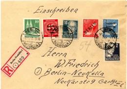 1948, Ortseinschreiben BERLIN-NEUKÖLLN 1 Mit Allem Was Gültig War. - [5] Berlin