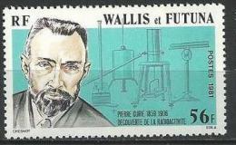 "Wallis YT 266 "" Pierre Curie "" 1981 Neuf** - Nuevos"