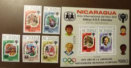 NICARAGUA  BLOCK 110 + 2154/58  Année De L'enfant  1979  JAHR DES KINDES YEAR OF THE CHILD ** MNH  #5118 - Nicaragua
