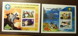 NICARAGUA  BLOCK 121 120  Scouting  Année De L'enfant  1979  JAHR DES KINDES YEAR OF THE CHILD ** MNH  #5119 - Nicaragua