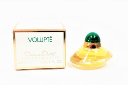 Miniatures De Parfum  VOLUPTÉ   De OSCAR De La RENTA  EDT 4 Ml  + Boite - Miniatures Femmes (avec Boite)