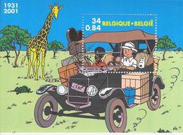 Kuifje In Afrika - Bélgica