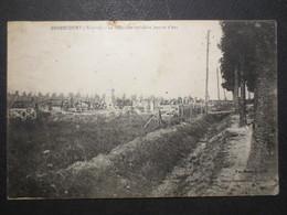 54 - Bernécourt ( Woëvre ) - CPA - Le Cimetière Militaire Jeanne D'Arc - Gerdolle Et Briquet / Visé A 5541 - - Andere Gemeenten