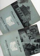 MILANO - PICCOLO TEATRO - 2 Opuscoli Differenti STAGIONE 1958/59 - 3 - Musik