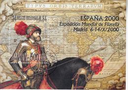 Gemeenschappelijke Uitgifte Met Spanje Karel V-met Opdruk - Used Stamps