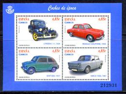 Spain 2012 España / Vintage Cars MNH Automobiles Coches Antiguos / Gz32  5-2 - Coches