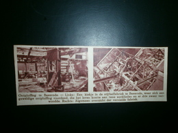 BAASRODE. Ontploffing Stijfselfabriek - Documents Historiques