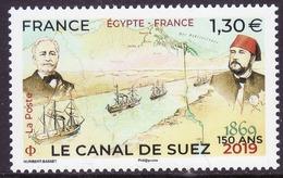 FRANCE 2019 YT ? 150 Ans Canal De Suez Egypte -France - Frankreich