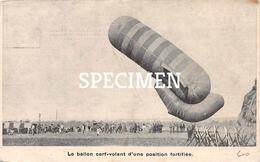 Le Ballon Cerf-volant S'une Position Fortifiée - Montgolfières