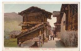 SUISSE SWITZERLAND QUIMET Une Rue - VS Wallis