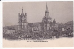 L120C_559 - Lausanne - J.J. 359 Cathédrale De Lausanne - Carte Précurseur - VD Waadt