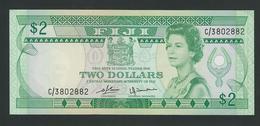 FIJI 2 DOLLARS 1980 PIK-77 UNC - Fidji