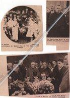 BURGHT..1934..1936..1937..ZWIJNDRECHT E.H. VAN ASSCHE PASTOOR/ E.H. VAN HAELST PASTOOR / GOUD VOOR DE MAEYER-VAN DE VEN - Vieux Papiers