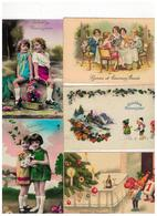 Gelukkig Nieuwjaar Bonne Année 50 Oude Postkaarten De Meeste Geschreven Met Zegel Begin 1900 - 5 - 99 Karten