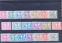 Nrs. TX66/TX72 + TX66PA/TX71P5 +  TX66P7/TX72P7 Postgaaf ** MNH Zeer Mooi - Portomarken