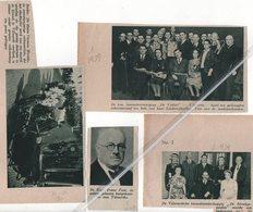 """VILVOORDE..1939..FRANS POOT BURGEMEESTER/TONEELVERENIGING """"DE VIOLIER """" DE STREEKGENOOTEN """"CIRCUSARTISTE VERMOORD - Alte Papiere"""