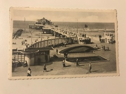Carte Postale Ancienne (1956) BLANKENBERGE De Pier - Blankenberge