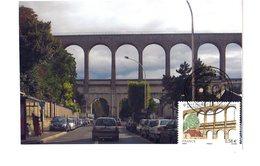 """Très Rare Car Perso : """" PONT-AQUEDUC D'ARCUEIL-CACHAN """" Sur Carte Maximum SOUPLE De France De 2010. N° YT 4503. CM - Ponts"""