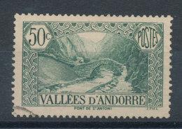 Andorre  N°65 Pont De Saint-Antoine - Usados