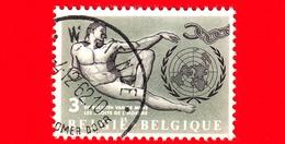 BELGIO - Usato - 1962 - Diritti Umani - O.N.U. (Nazioni Unite) - 3 - Used Stamps