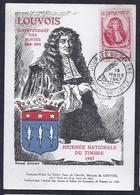 Carte Federale Journee Du Timbre 1947 Aix En Provence - Storia Postale