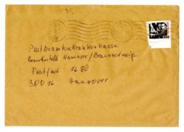 Deutschland 2000 - Kurt Weill N. 2100 - Varietà - Dentellatura Errata Viaggiato Su Busta - Piano Scarpe ... - Musica
